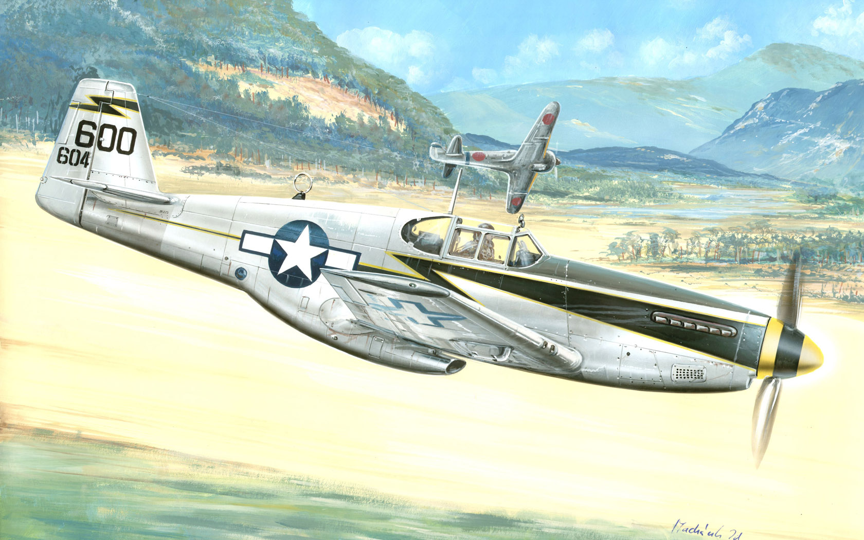 "рисунок F-6C ""Miss Revenge"""