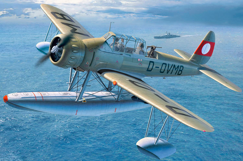 рисунок Arado Ar196B