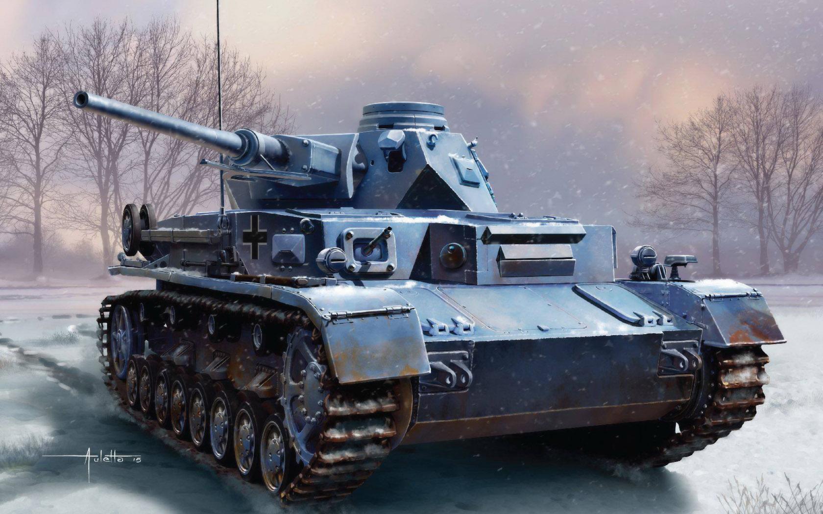 рисунок Pz.Kpfw.IV Ausf.D w/5cm L/60
