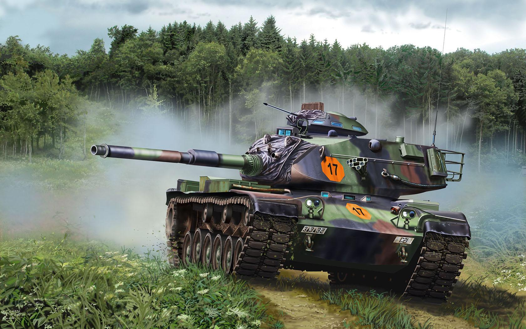 рисунок M60A3