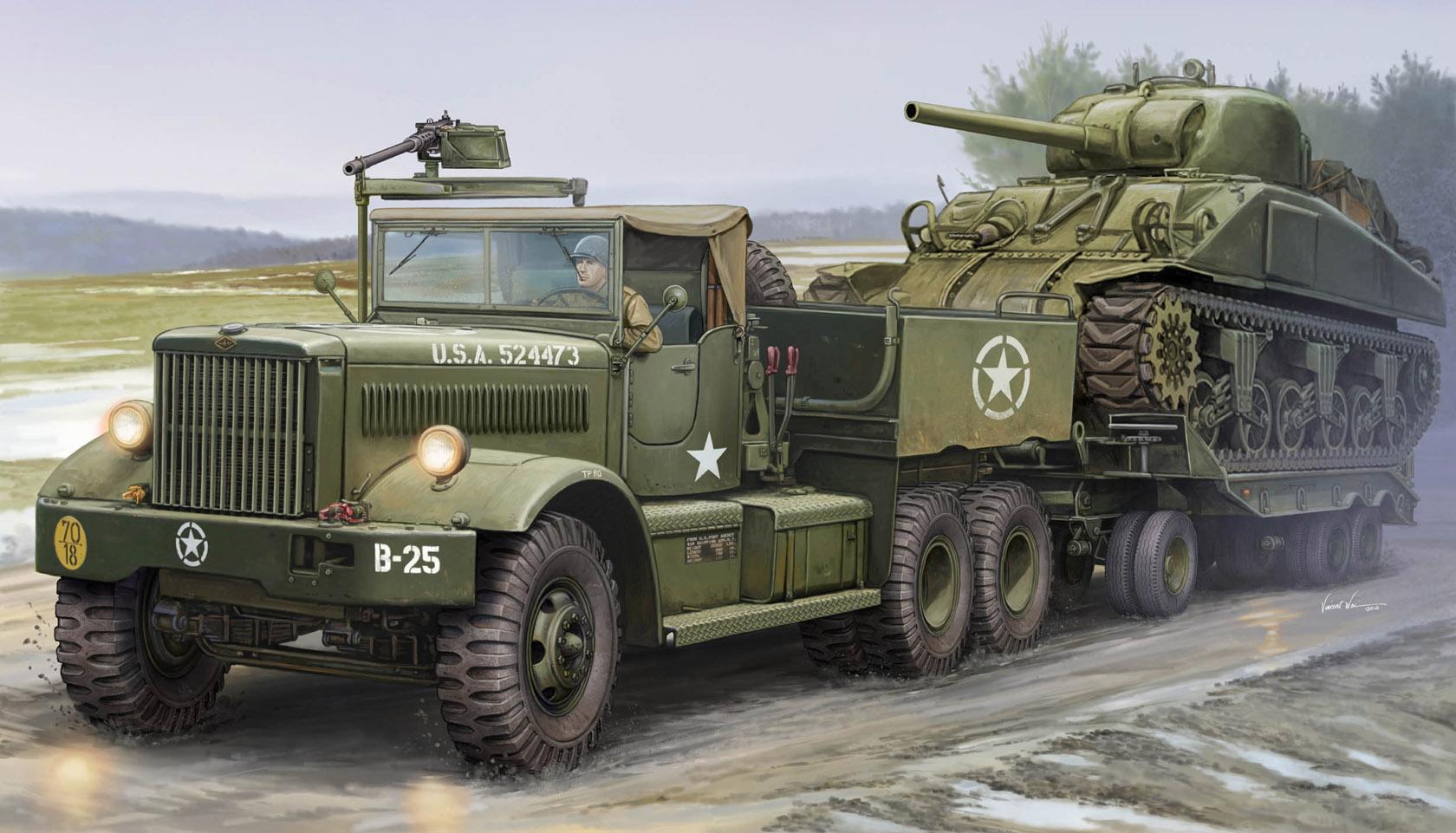 рисунок M19 Tank Transporter