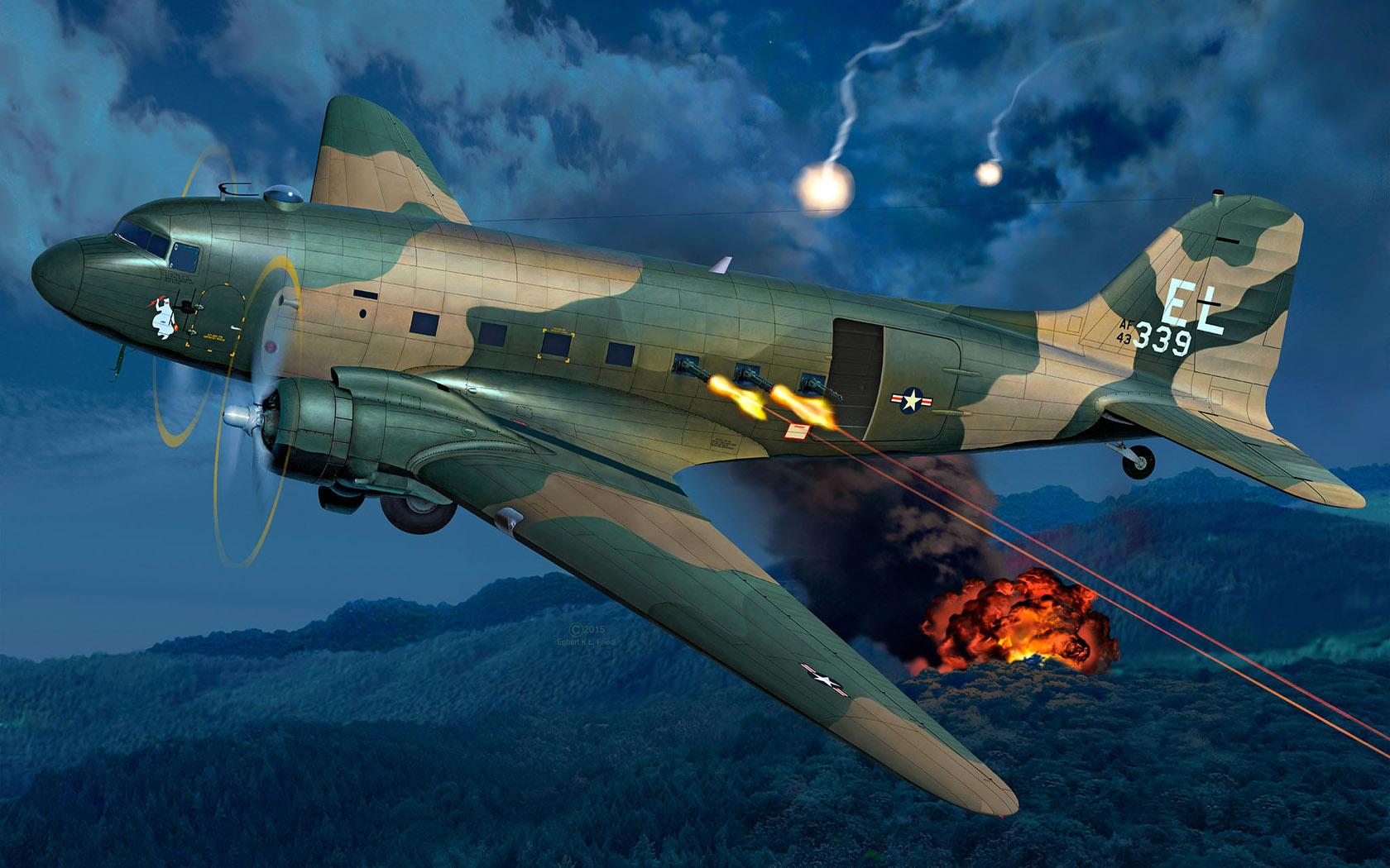 рисунок AC-47D