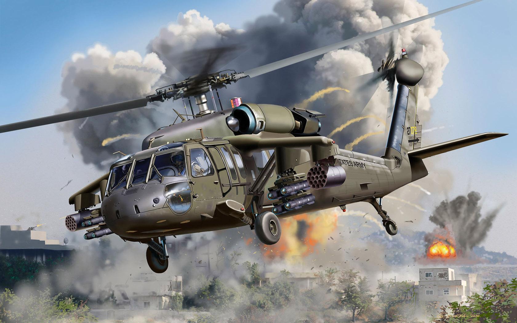 рисунок UH-60A