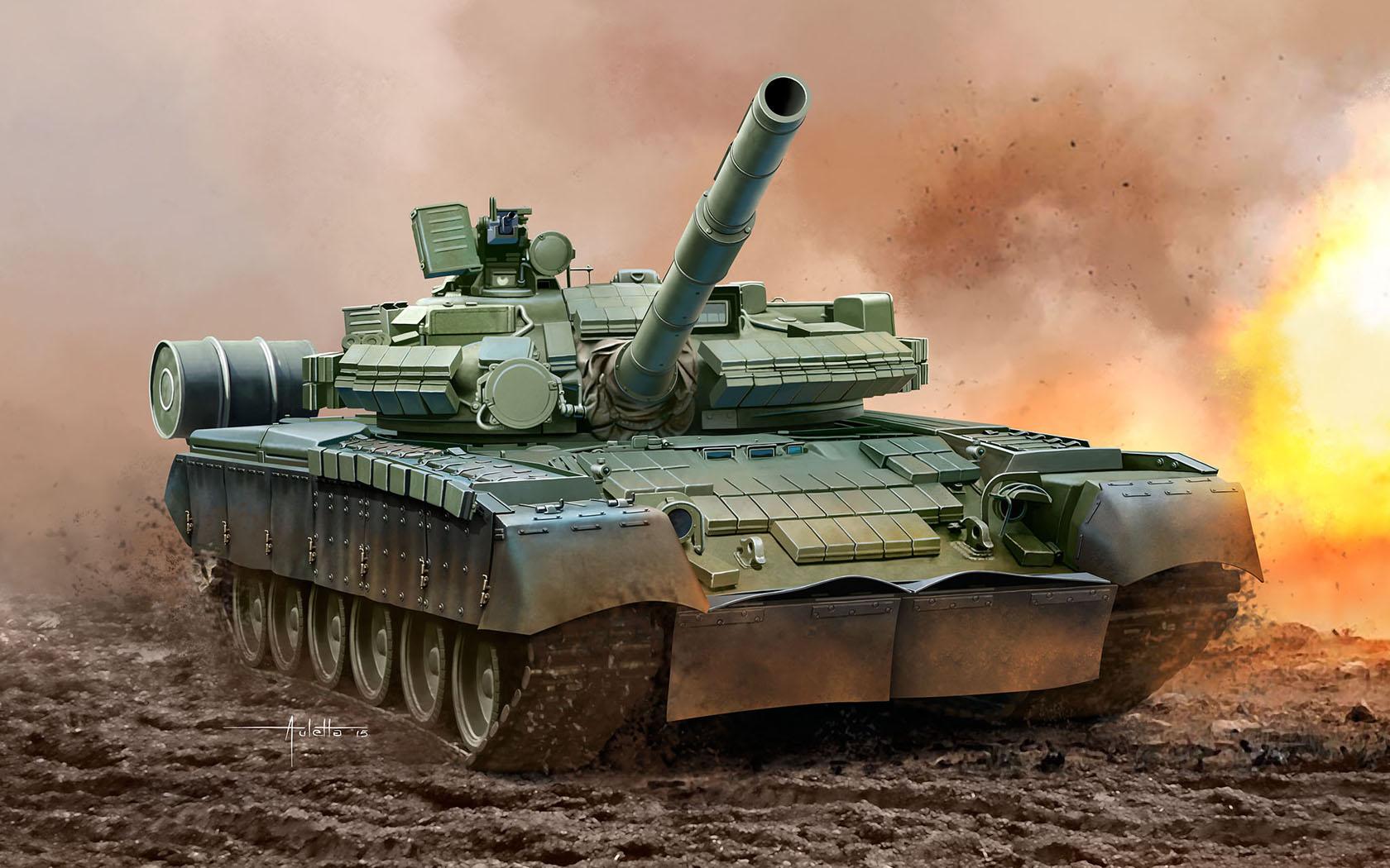 рисунок Т-80БВ