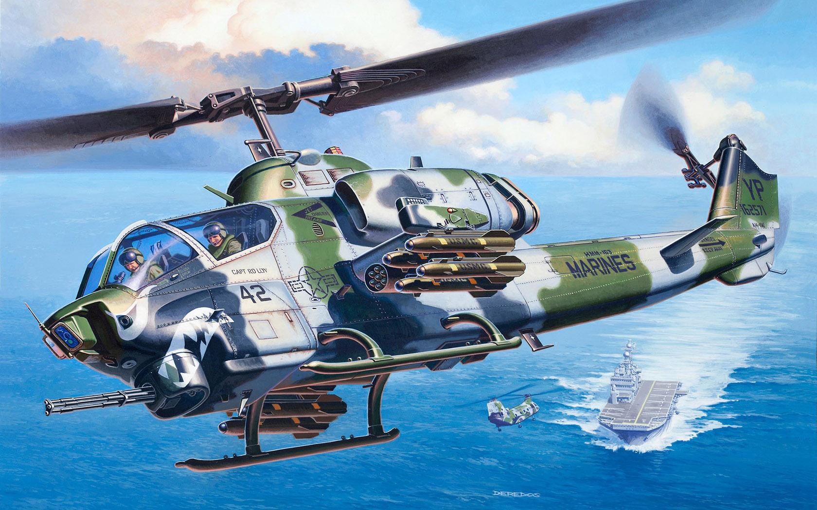 рисунок AH-1W