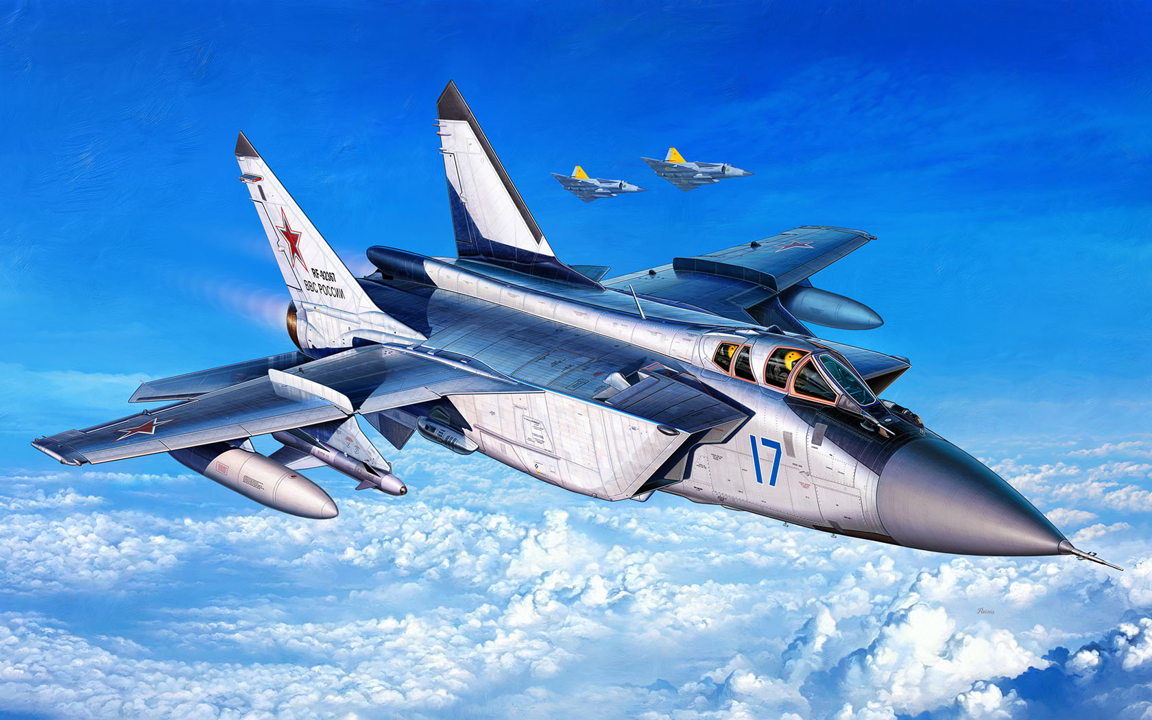 рисунок Mig-31 Foxhound