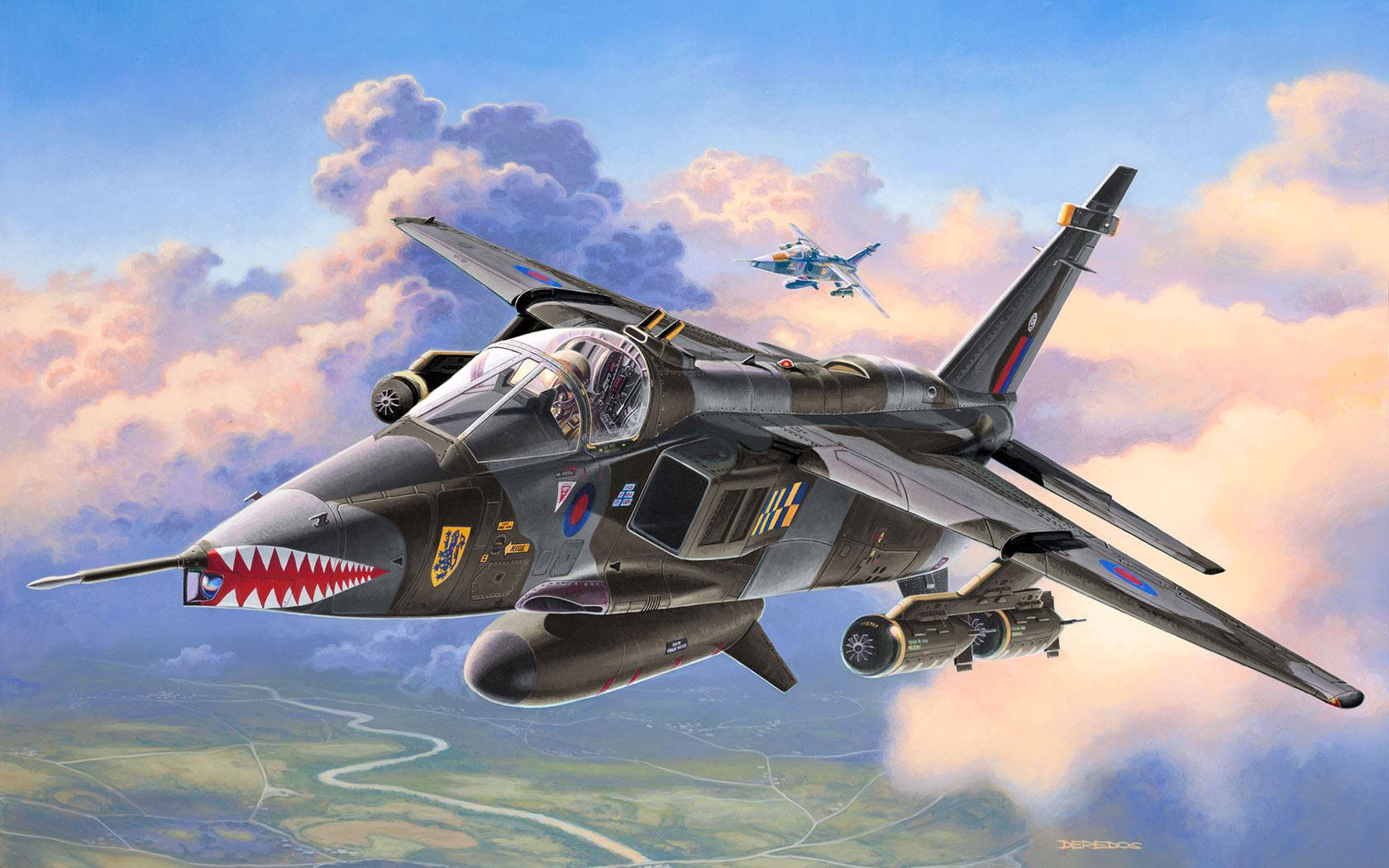 рисунок Sepecat Jaguar GR.1A