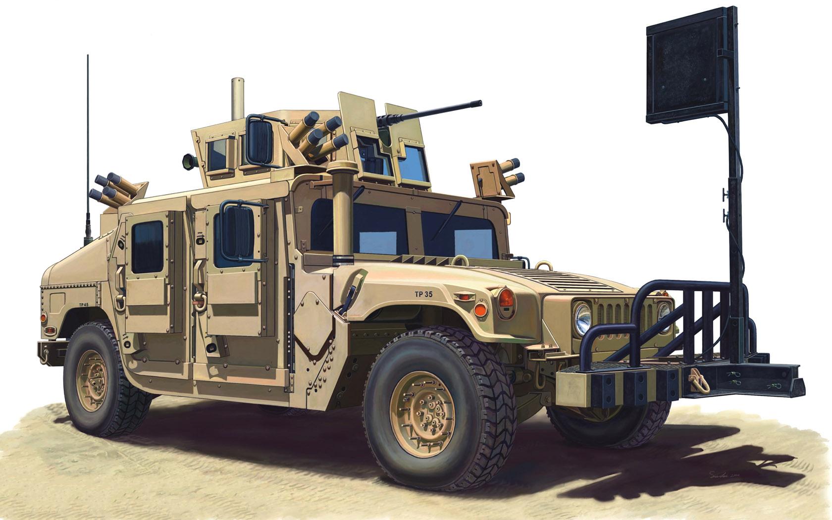рисунок M1114 Humvee