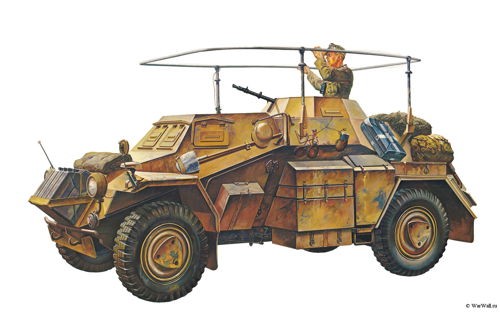 рисунок Sd.Kfz.223