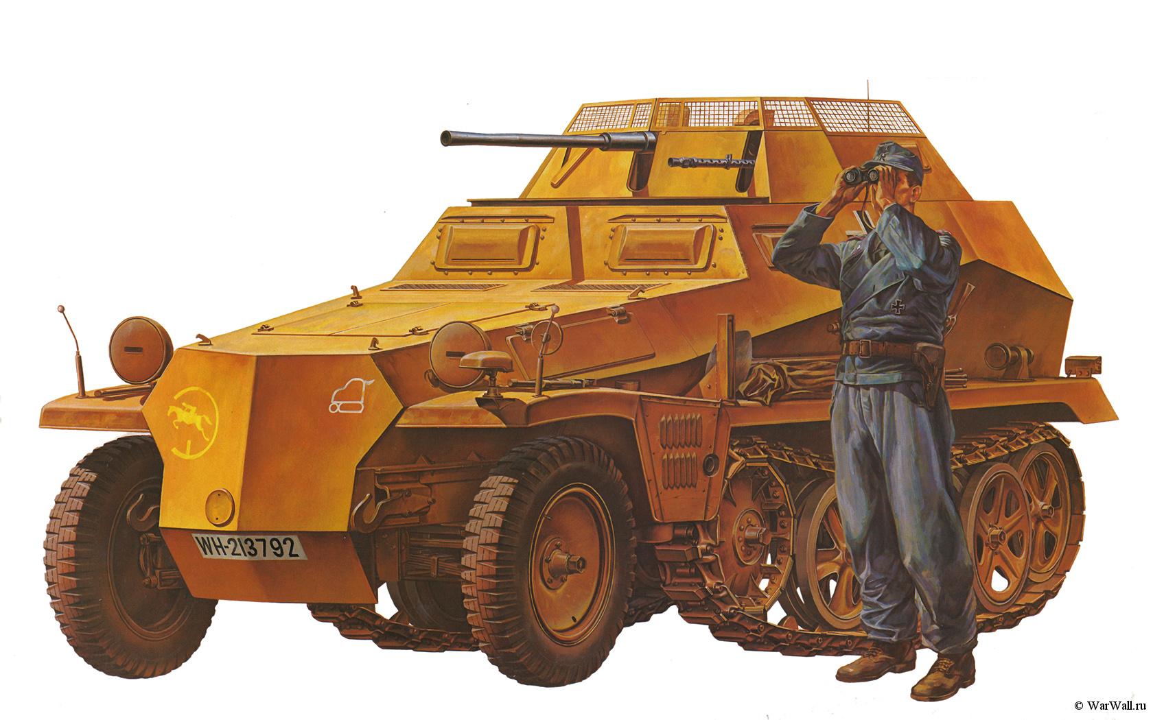 рисунок German Sd.Kfz. 250/9