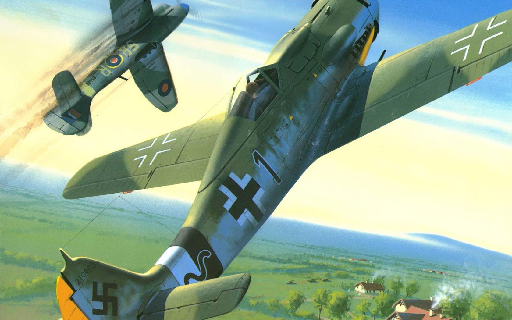 рисунок FW-190D-9