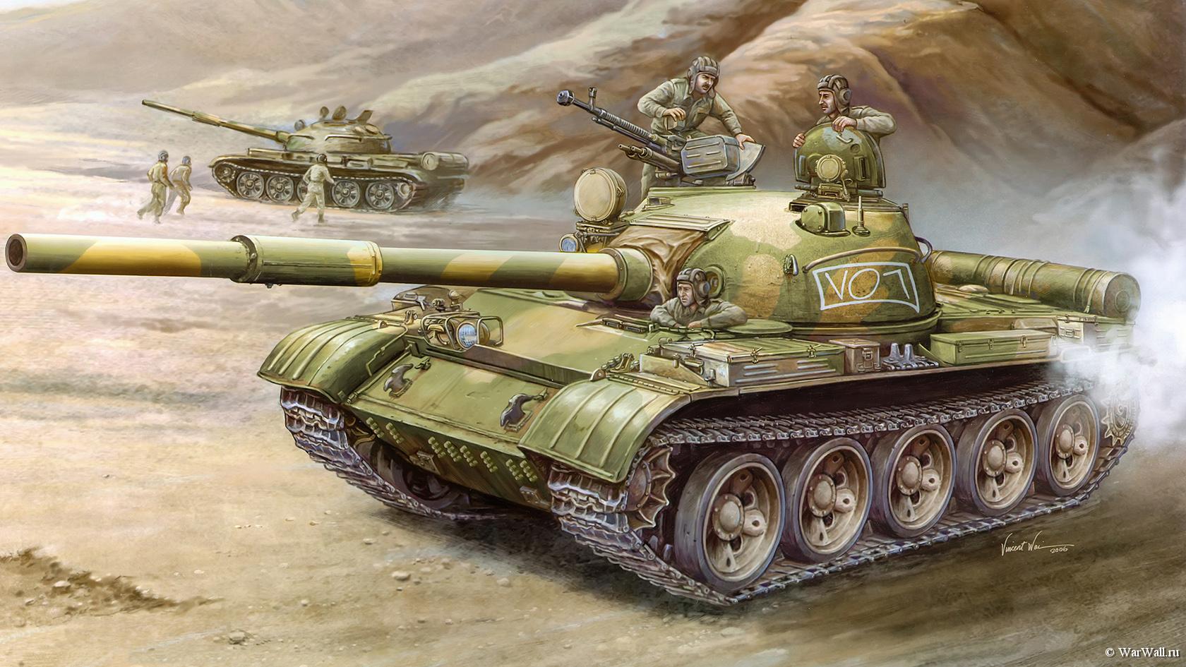 рисунок Т-62 образца 1972 года