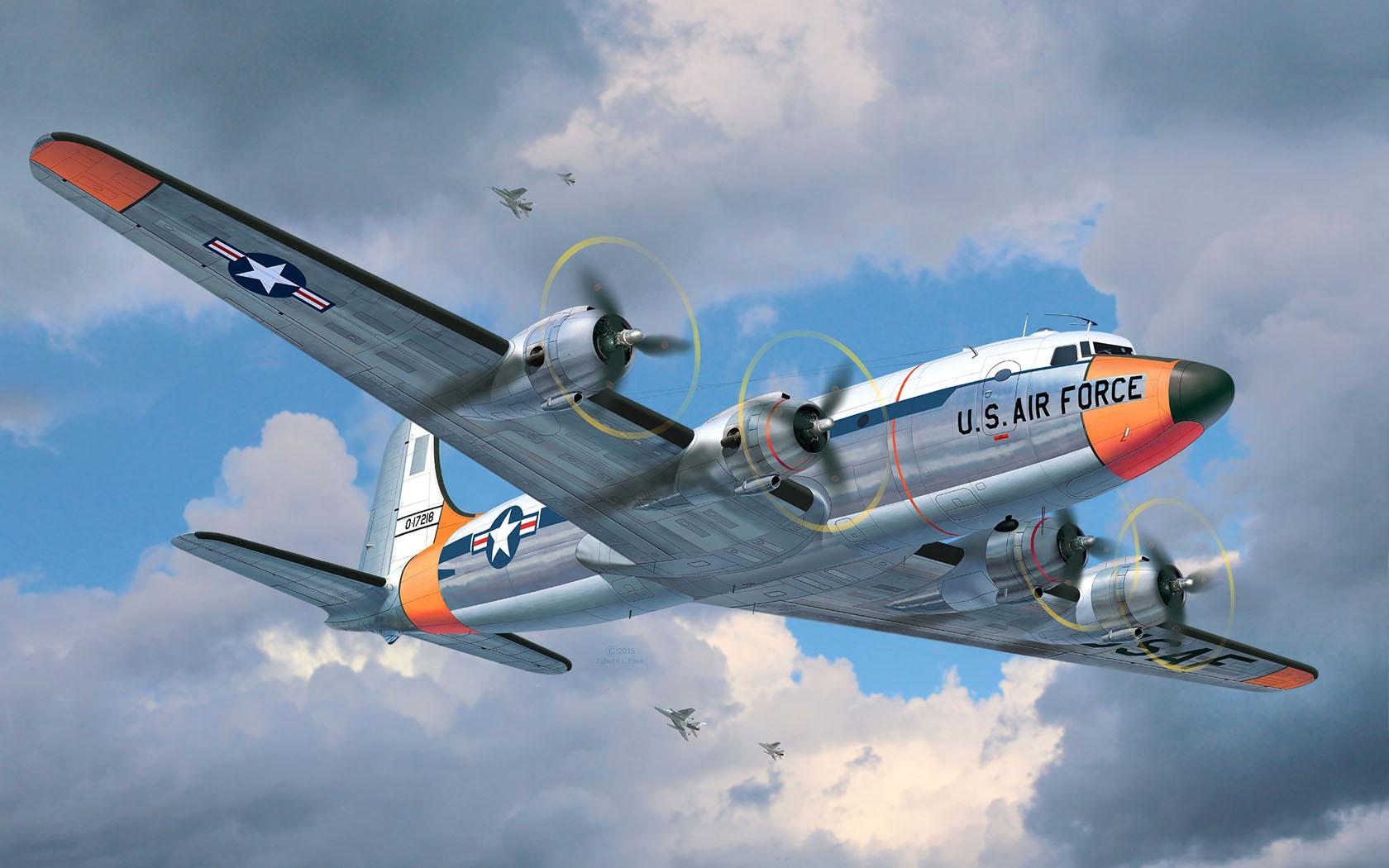 рисунок Douglas C-54 Skymaster