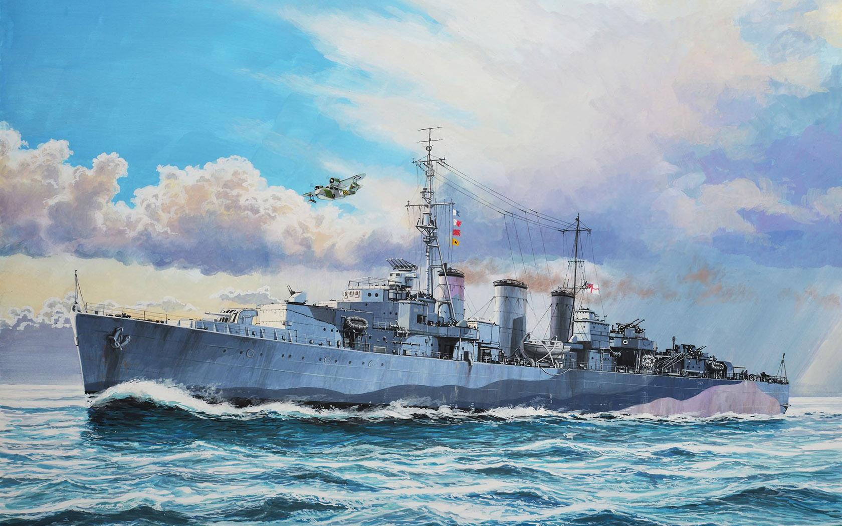 рисунок HMS Ariadne