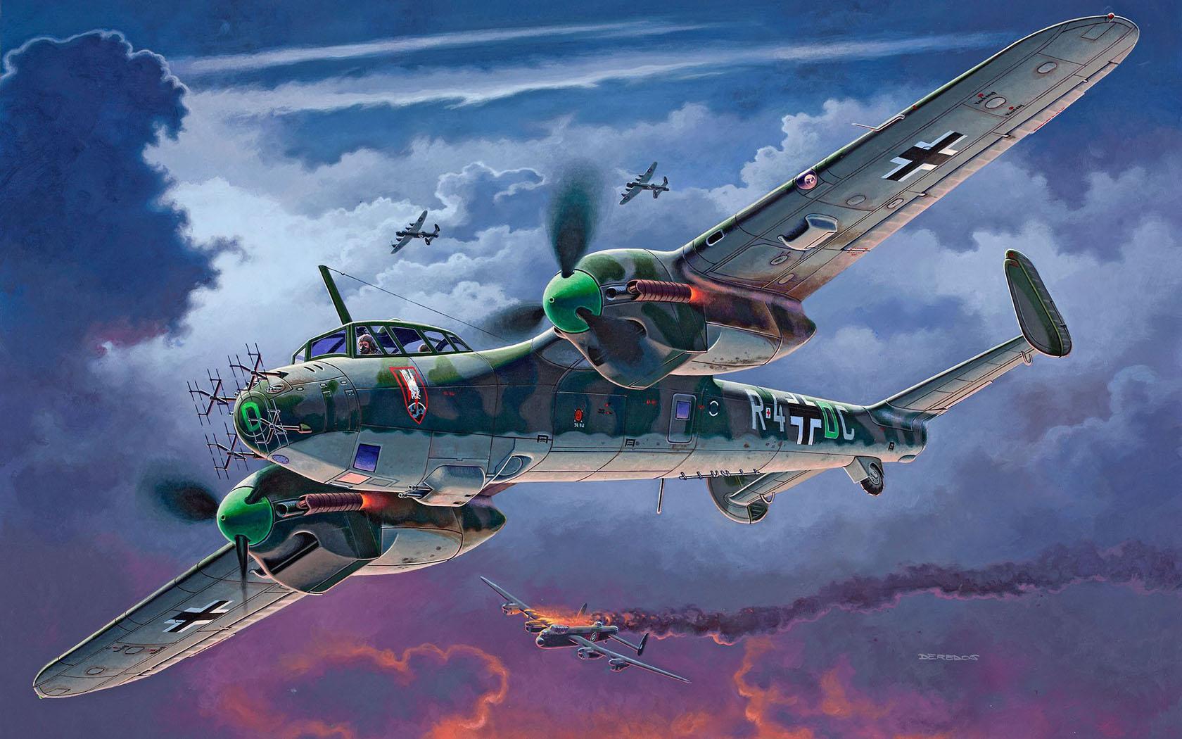 рисунок Dornier Do215 B-5 Nightfighter