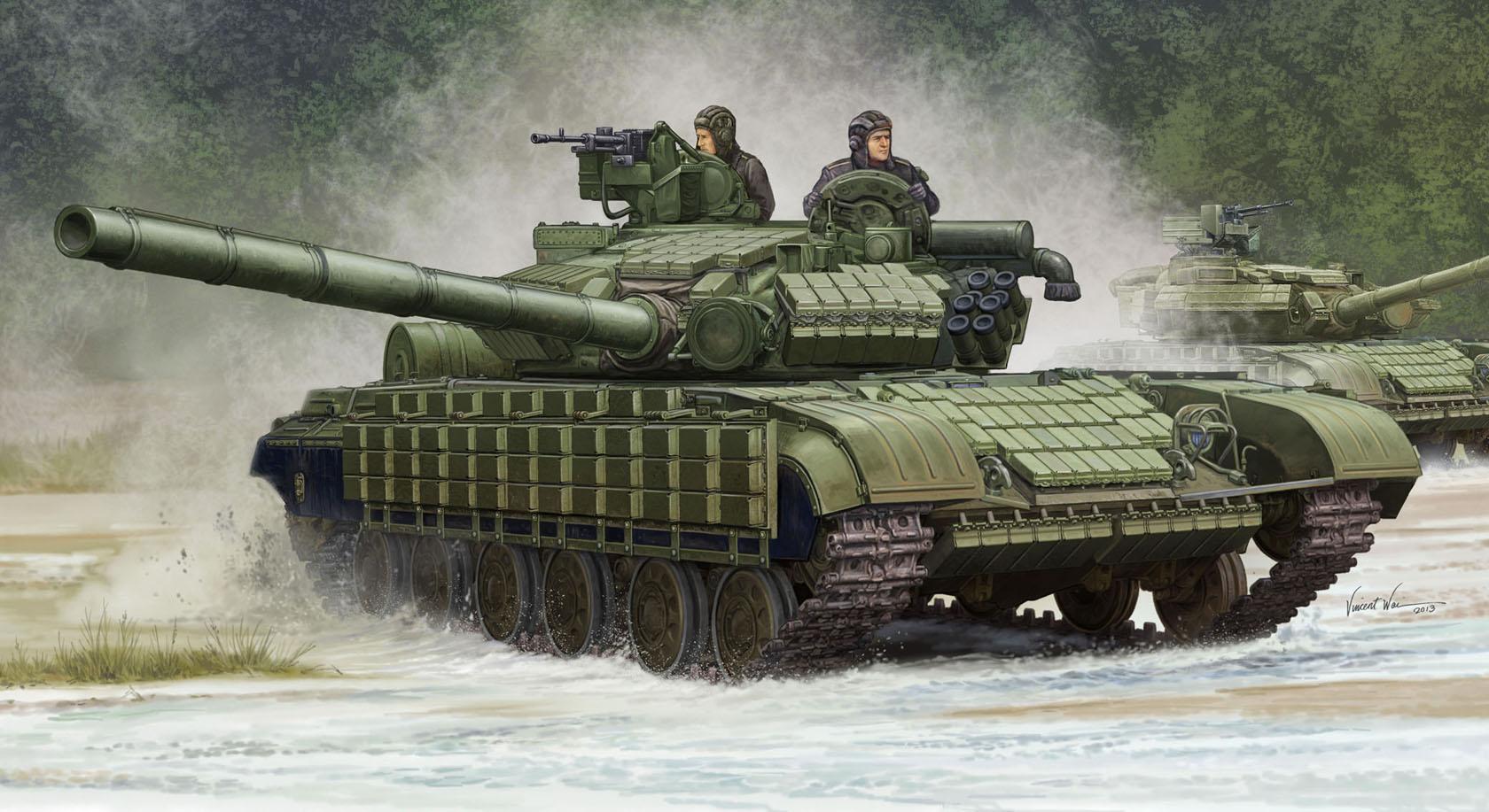 рисунок Т-64БВ 1985 года