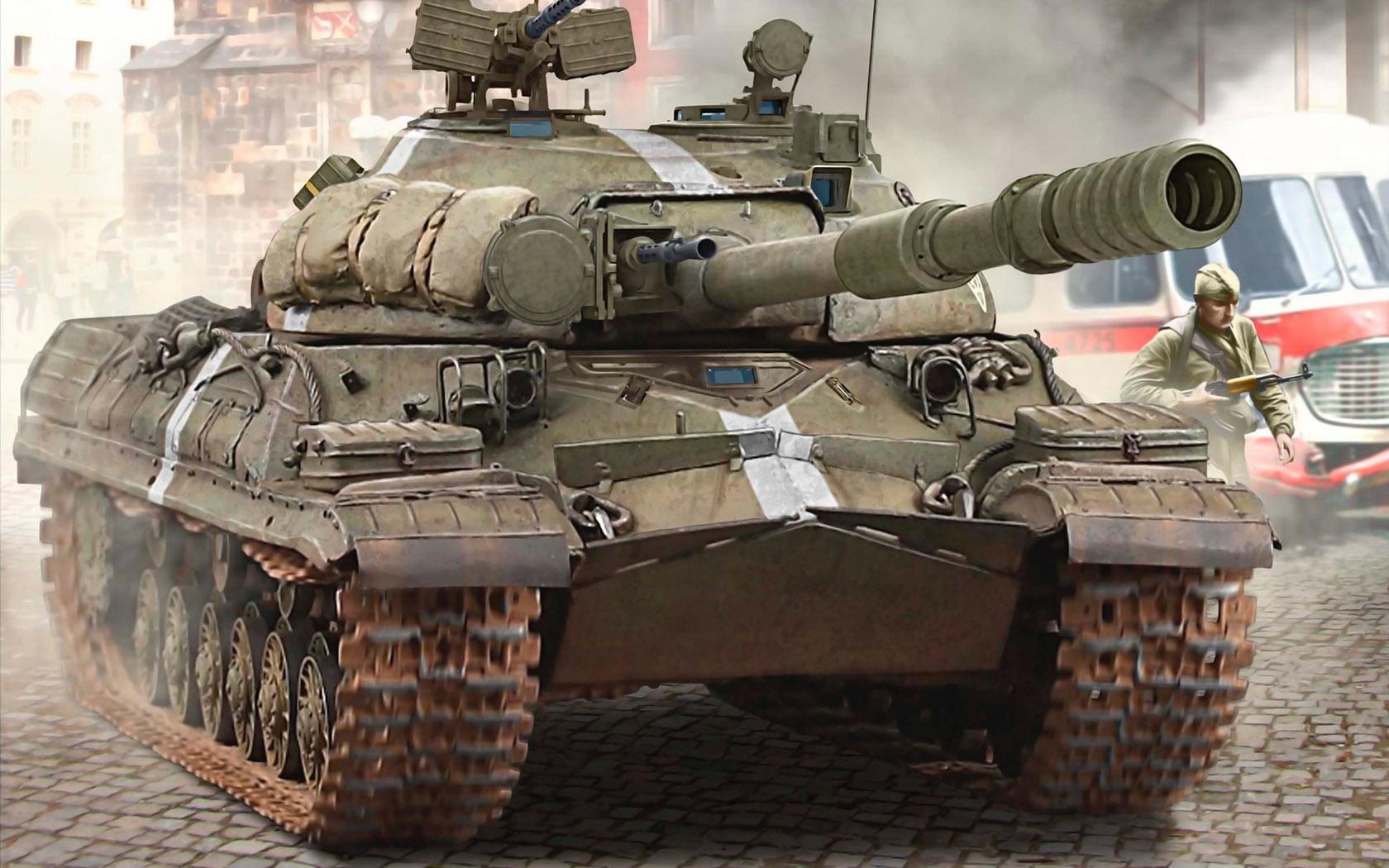 рисунок советский танк Т-10