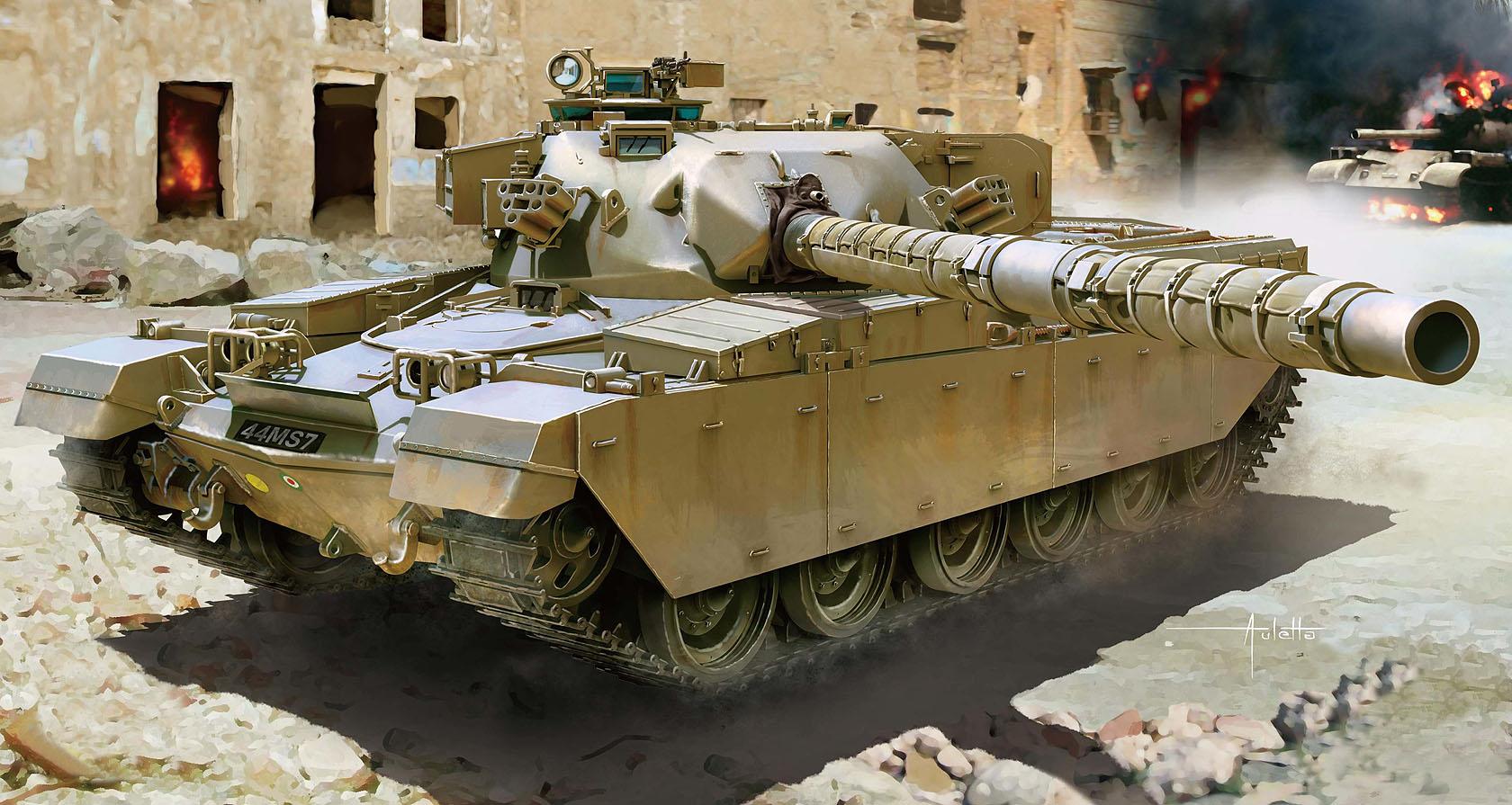 рисунок Chieftain Mk 5