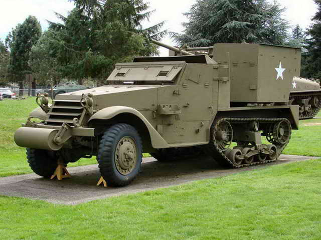 M15A1 AA Half-Track Walk Around