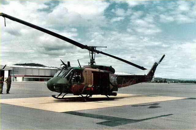 UH-1D Huey Gunship Walk Around