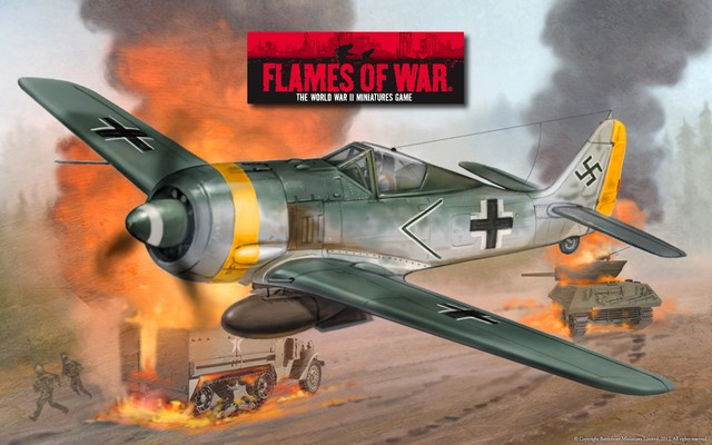 Обои к Flames Of War. Часть 2