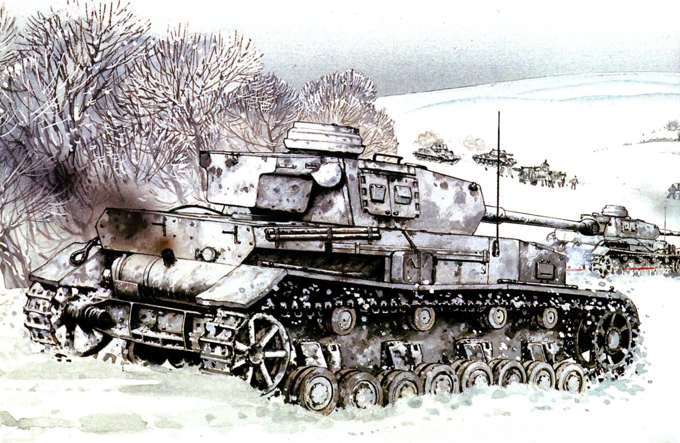 Средний танк pz iv