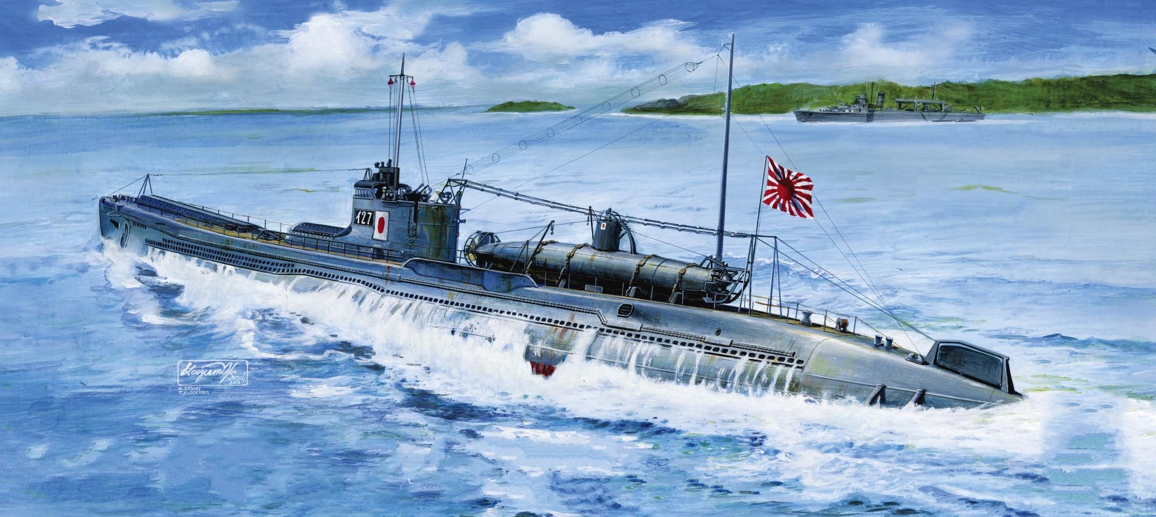 модели японских подводных лодок