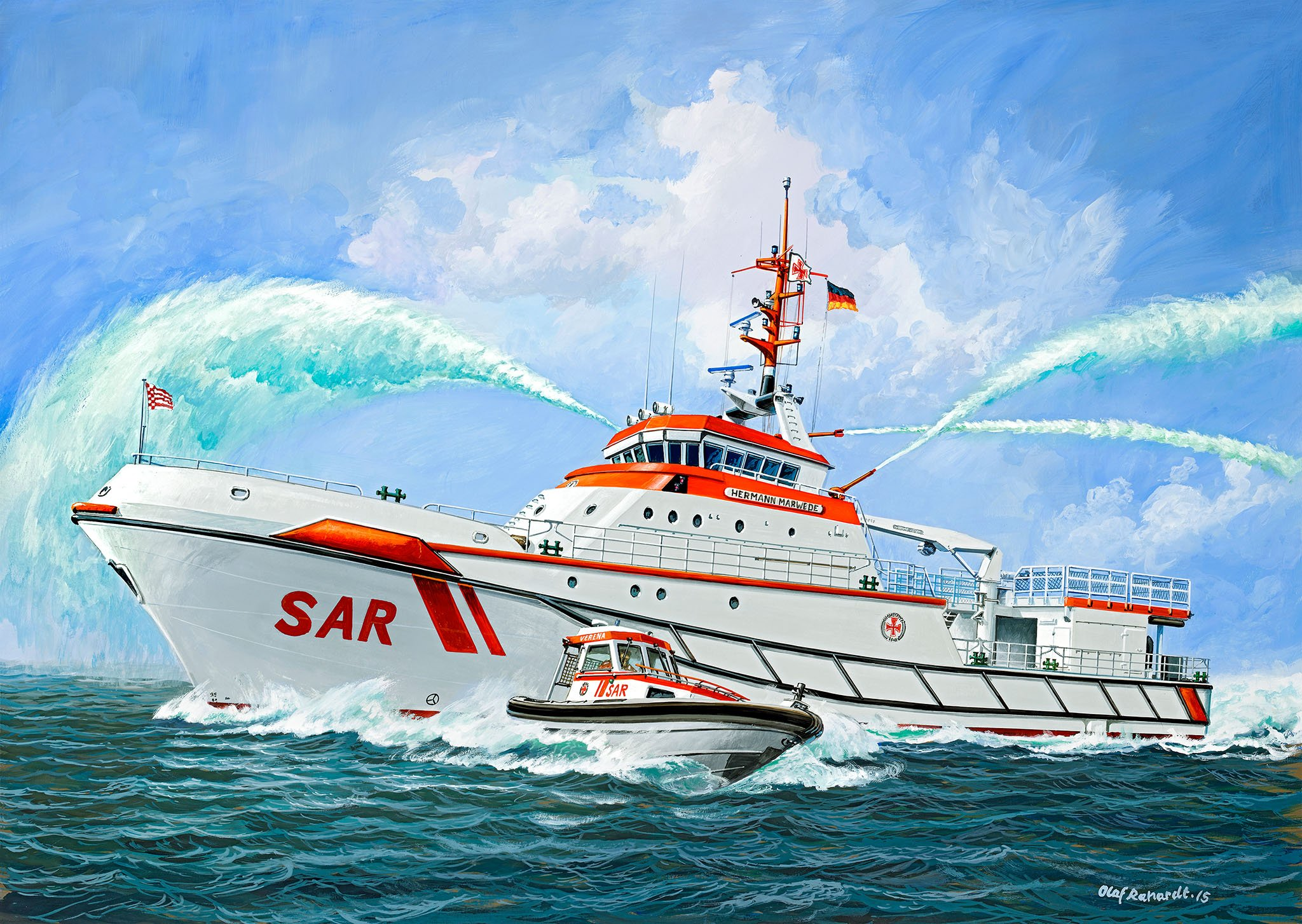 рисунок Herman Marwede Search & Rescue