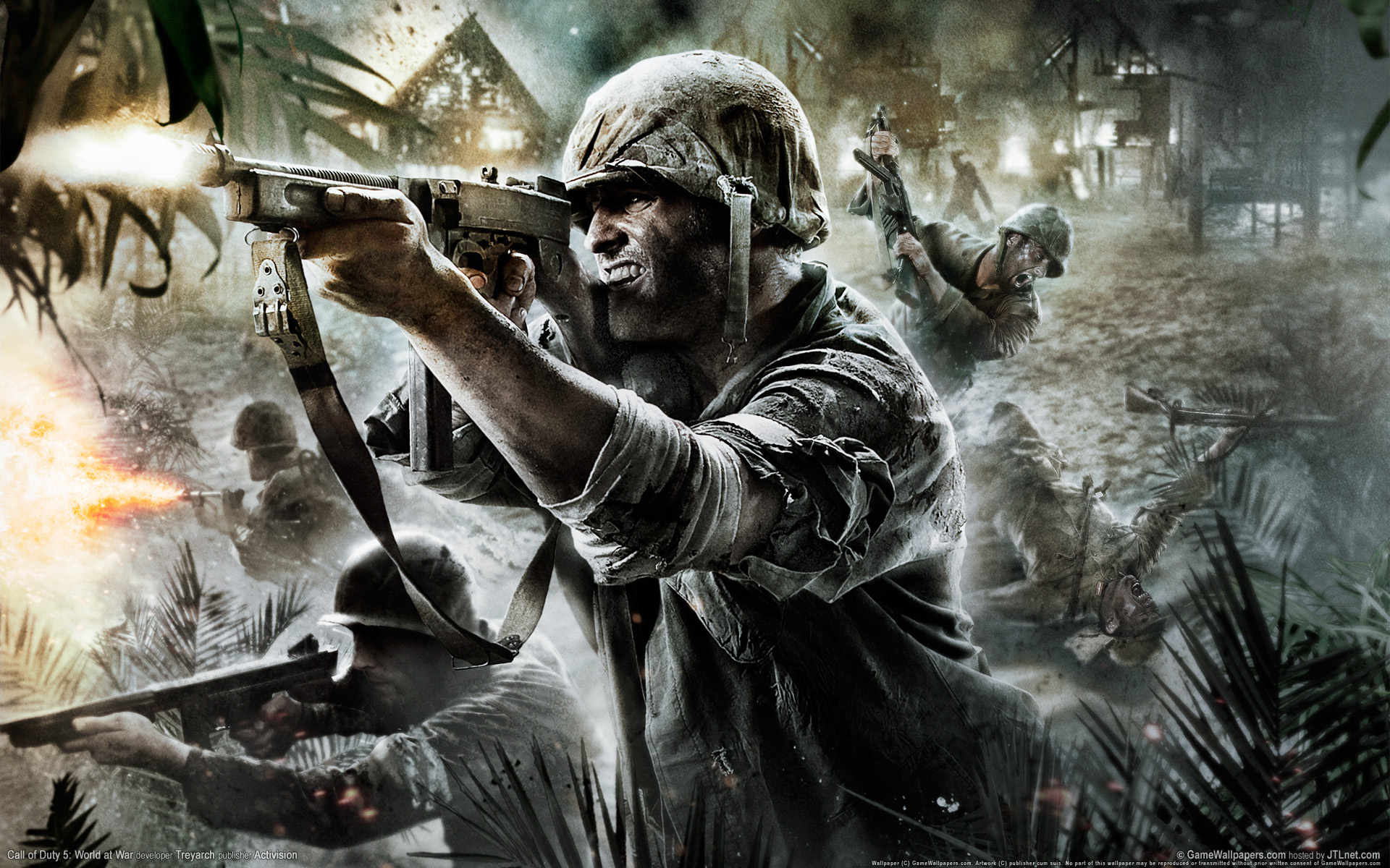 рисунок Call of Duty: World at War