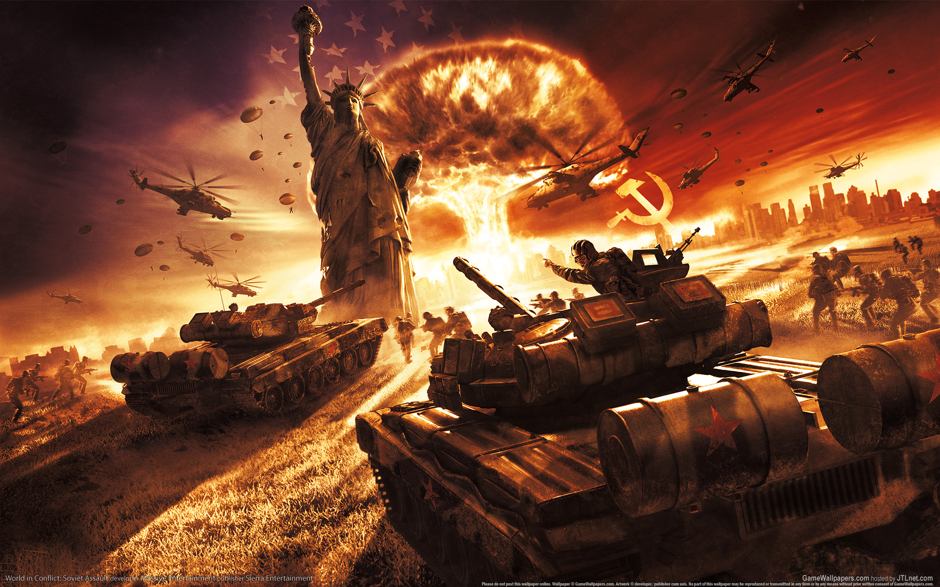 рисунок World in Conflict