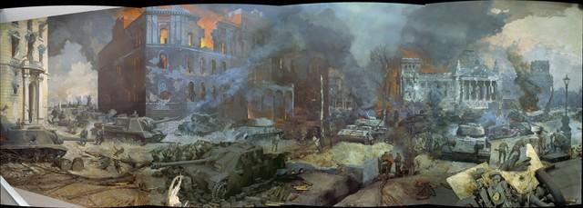 Панорамные картины Великой Отечественной войны